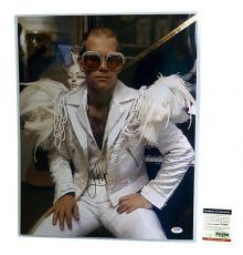 Psa/dna Signed Auto 16x20 Photo Elton John  *31