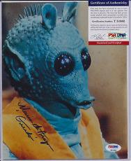 Psa/dna Signed Auto 8x10 Maria De Aragon (greedo - Star Wars)