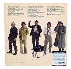 Psa/dna Signed Auto Album Cover Robin Williams  32615