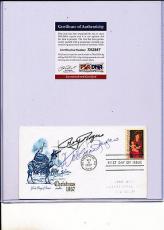 Psa/dna Signed Fdc P1340 Roy Rogers / Dale Evans