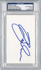 Psa/dna Signed Index Card Jason Bonham   2994