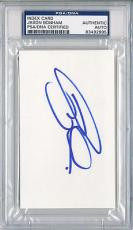 Psa/dna Signed Index Card Jason Bonham   2995