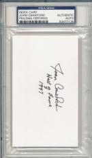 Psa/dna Signed Index Card Joan Crawford *i7136