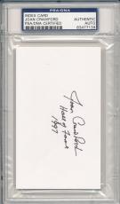Psa/dna Signed Index Card Joan Crawford *i7139