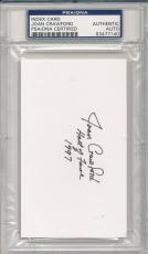 Psa/dna Signed Index Card Joan Crawford *i7140