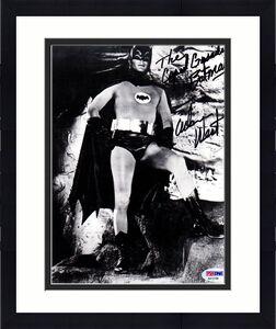 "Psa/dna ""the Caped Crusader Batman"" Adam West Autographed-signed 8x10 Photo 2166"
