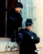 Van Williams Signed Photo - Psa dna As The Green Hornet 8x10 Aa28124