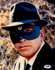 Signed Van Williams Picture - Psa dna As The Green Hornet 8x10 Aa92151