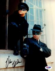 Autographed Van Williams Picture - Psa dna As The Green Hornet 8x10 Aa92155