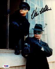Signed Van Williams Picture - Psa dna As The Green Hornet 8x10 Aa92156