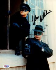 Autographed Van Williams Photo - Psa dna As The Green Hornet 8x10 Aa92165