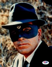 Van Williams Autographed Picture - Psa dna As The Green Hornet 8x10 Y65177