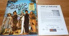 Psa/dna Wizard Of Oz Autographed-signed Book Signed By 14 Munchkins & Others 744