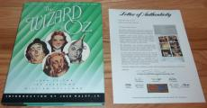 Psa/dna Wizard Of Oz Munchkin Autographed-signed Book Signed By 13 Munchkins 743