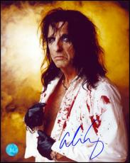 Publicity Autographed by rock star Alice Cooper 8x10 Photo