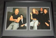 Pulp Fiction Cast Framed 18x24 Photo Set Quentin Tarantino