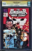 Punisher War Zone #1 9.8 Ss Signed 5x's Stan Lee Dixon,romita, ++ #1274034018