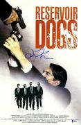 "Quentin Tarantino Autographed 12"" x 18"" Reservoir Dogs Movie Poster - Beckett COA"