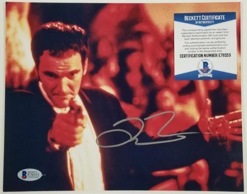 QUENTIN TARANTINO Signed 8x10 Photo Pulp Fiction Director ~ Beckett BAS COA