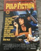 "QUENTIN TARANTINO SIGNED AUTOGRAPH ""PULP FICTION"" FULL POSTER 12x18 PHOTO COA"