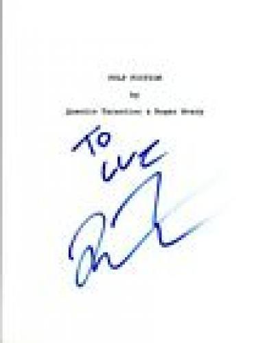 Quentin Tarantino Signed Autographed PULP FICTION Full Movie Script COA AB