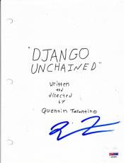 Quentin Tarantino Signed Django Unchained Full 169 Page Script Psa Coa