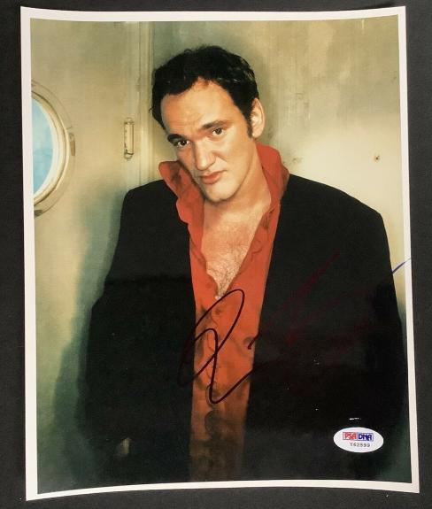 Quentin Tarantino Signed Photo 8x10 Pulp Fiction Director Autograph PSA/DNA