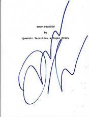 Quentin Tarantino Signed Pulp Fiction Full 126 Page Script Autograph Coa