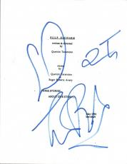 Quentin Tarantino & Tim Roth Signed Autographed PULP FICTION Movie Script COA