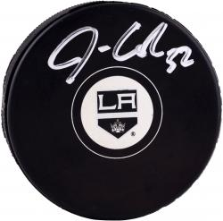 Jonathan Quick Los Angeles Kings Autographed Hockey Puck - Mounted Memories