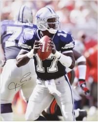 Quincy Carter Dallas Cowboys Autographed 16x20 Photograph - Mounted Memories