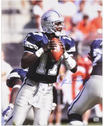 Quincy Carter Signed Photo - 16x20 Mounted Memories