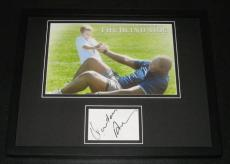 Michael Oher Autographed Photo - Quinton Aaron Framed 11x14 Display JSA The Blind Side