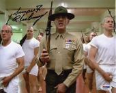 R. Lee Ermey Full Metal Jacket Autographed Signed 8x10 Photo PSA/DNA COA