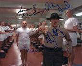R. Lee Ermey Matthew Modine Vincent D'onofrio Arliss Howard Signed Photo