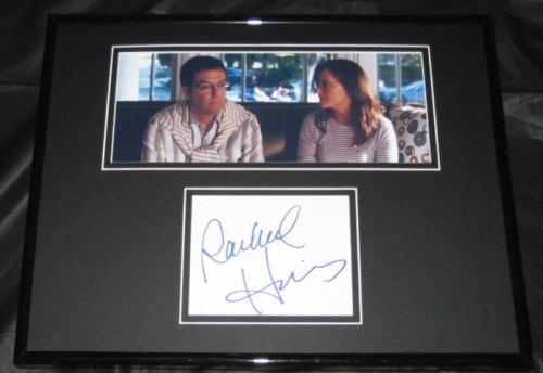 Rachael Harris Signed Framed 11x14 Photo Display JSA The Hangover