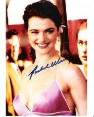 autographed rachel weisz memorabilia signed photos