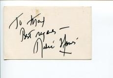 Radie Harris Journalist Hollywood Reporter Stage Door Canteen Signed Autograph
