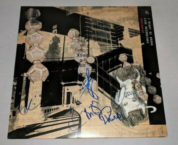 RADIOHEAD signed autographed I MIGHT BE WRONG LP RECORD BECKETT LOA THOM YORKE🎁