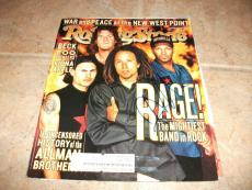 Rage Against  Machine Tom Morello Signed Autographed Rolling Stone Cover Photo