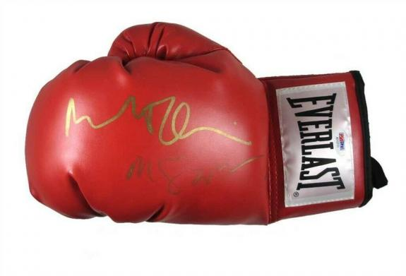 Raging Bull De Niro and Scorsese Autographed Signed Boxing Glove PSA/DNA COA