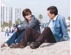 Rails & Ties Marcia Gay Harden & Kevin Bacon Signed 8x10 Photo