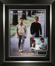 RAIN MAN Hoffman and Cruise Signed Poster Display