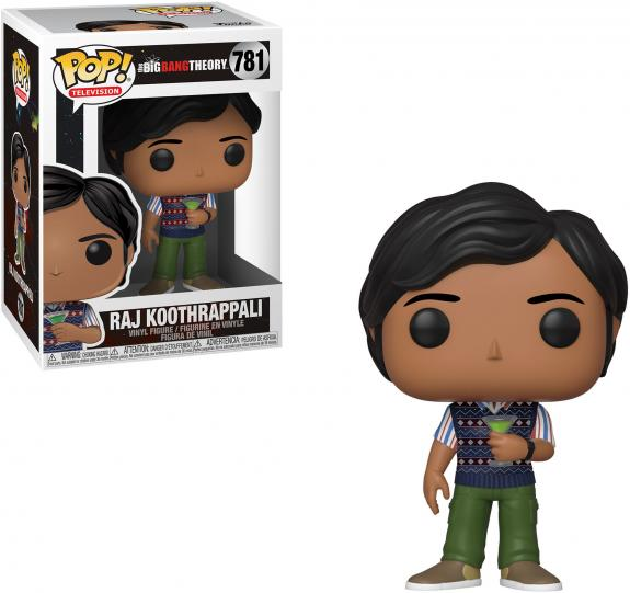 Raj Big Bang Theory #781 Funko TV Pop!