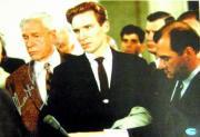 Ralph Fiennes autographed picture (Quiz Show) 11x14 paper photo