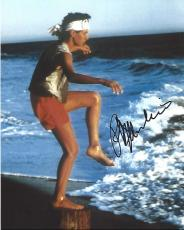 """RALPH MACCHIO as DANIEL in 1984 Movie """"THE KARATE KID"""" Signed 8x10 Color Photo"""