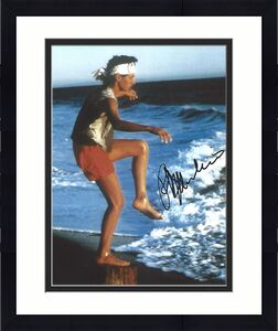 "RALPH MACCHIO as DANIEL in 1984 Movie ""THE KARATE KID"" Signed 8x10 Color Photo"
