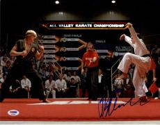 Ralph Macchio Autographed Signed 11x14 Karate Kid Photo AFTAL UACC RD COA PSA