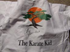 Ralph-Macchio-Autographed-Signed-The-Karate-Kid-Iconic-Marital-Arts-Gi JSA COA