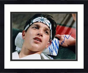 Ralph Macchio Signed - Autographed THE KARATE KID 8x10 inch Photo - Guaranteed to pass BAS